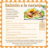 Salmón a lanaranja