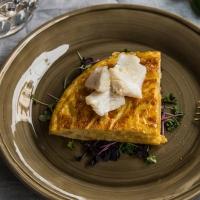 Tapa de tortilla de Skrei by David Delgado Norwegian Seafood Export Council  Recipes